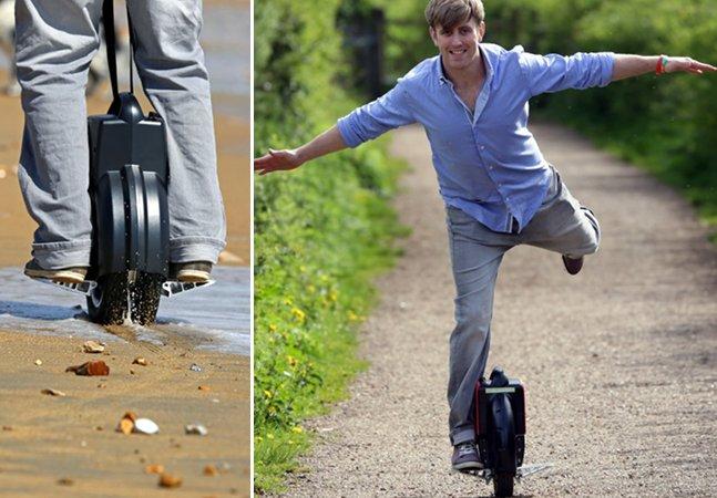 E você, toparia andar em um uniciclo elétrico? Conheça o conceito que pode revolucionar o transporte pessoal