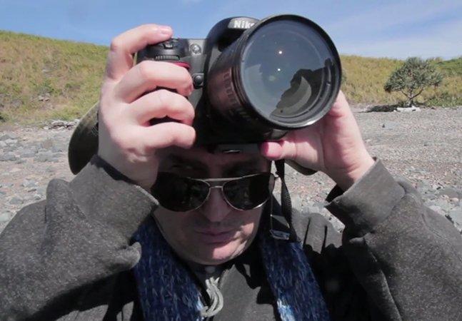 A história inspiradora do homem cego que conseguiu realizar seu maior sonho: ser fotógrafo