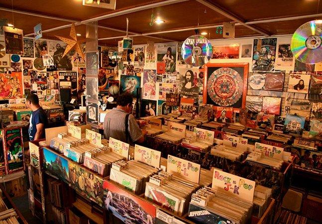 26 lojas de discos que todo amante de música iria adorar conhecer