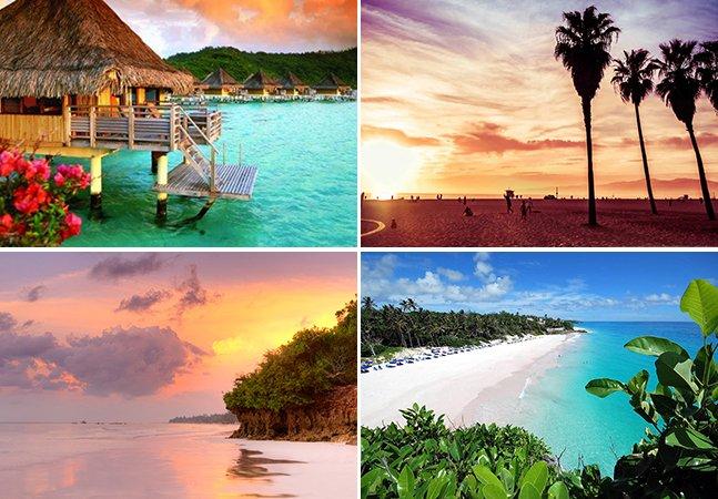 20 praias românticas ao redor do mundo para curtir com seu amor
