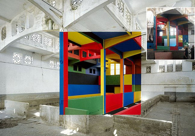 Artista usa ilusão de ótica para criar obras que só podem ser vistas de um determinado ângulo