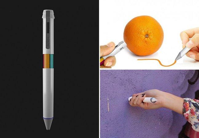 Caneta inovadora é capaz de reproduzir as cores de qualquer objeto