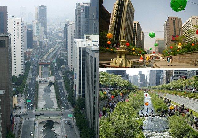 6 cidades que trocaram rodovias por mais parques urbanos