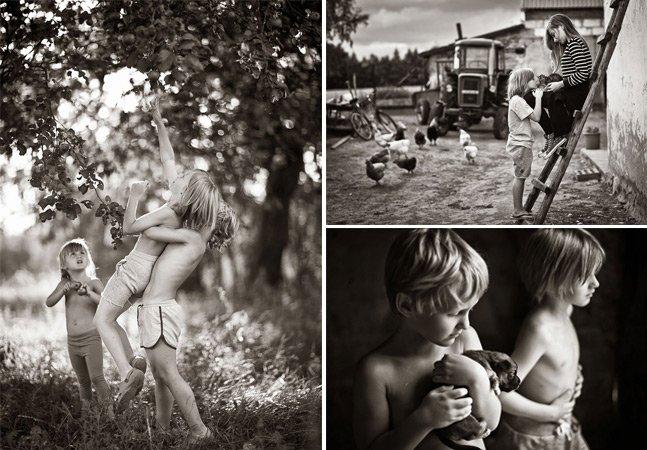 Série fotográfica retrata a beleza da melhor fase da vida