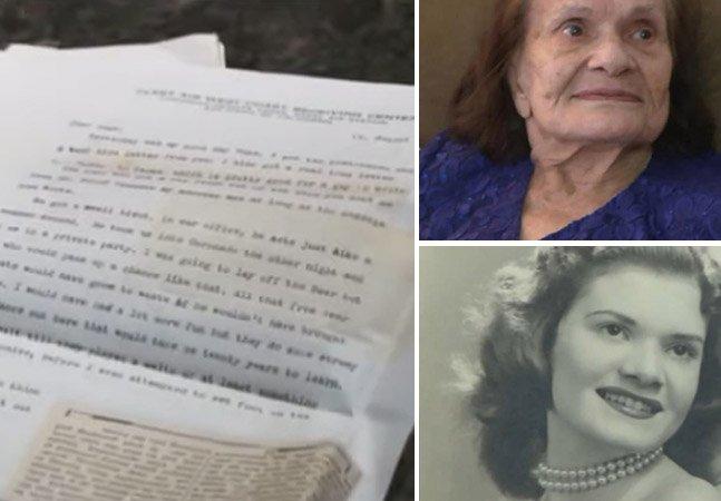 70 anos depois, mulher recebe cartas de amor enviadas por marinheiro durante a II Guerra Mundial