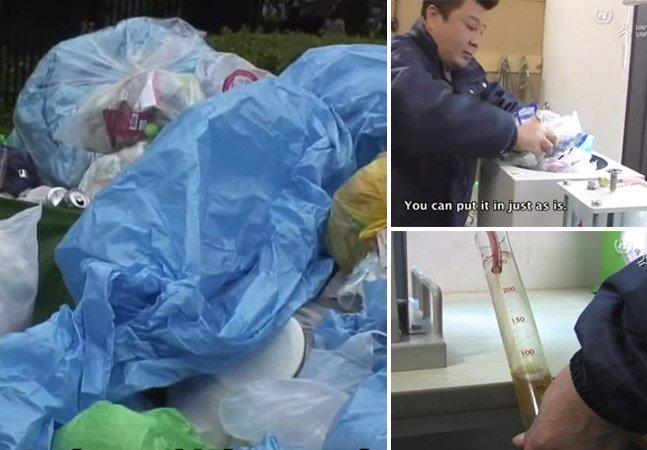 Startup japonesa cria máquina capaz de converter plástico em combustível