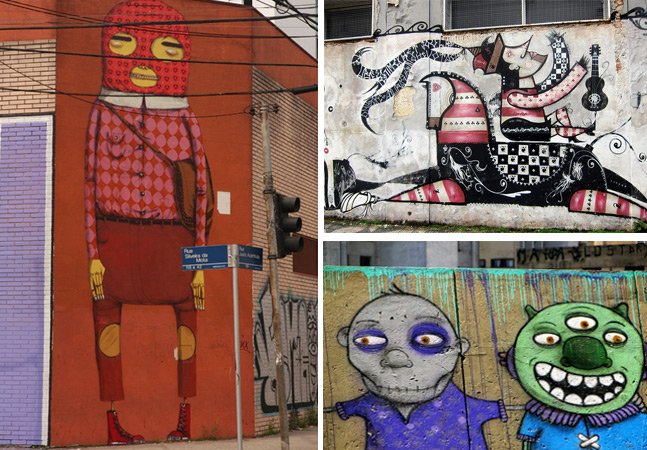 Tour leva visitantes para conhecer acervo de arte urbana nas ruas de São Paulo
