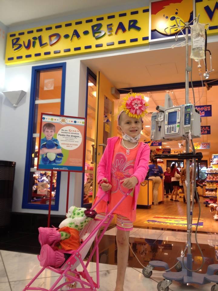 Mochila para crianças com câncer