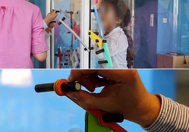Designer cria jogo que ajuda crianças isoladas em hospitais a interagir com outras de quartos vizinhos
