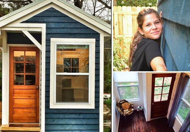 Garota de 14 anos constrói sua própria casa com ajuda de financiamento coletivo