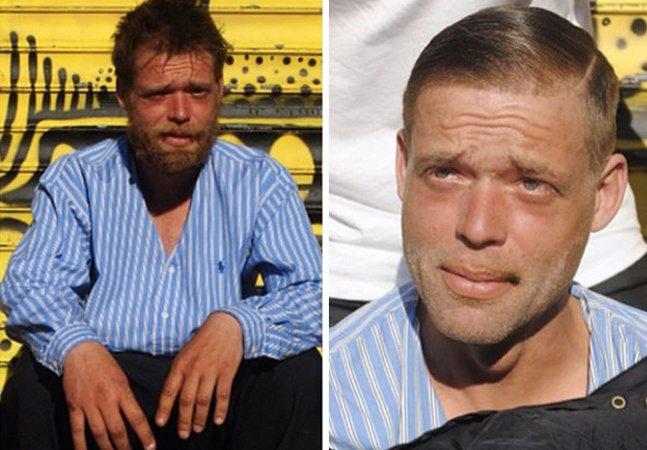 Conheça o cabeleireiro que usa suas folgas para cortar o cabelo  de moradores de rua