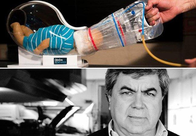 Mecânico inventa aparelho que diminui riscos na hora do parto e pode salvar vidas