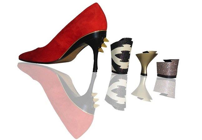 Designer inova e cria sapatos que trocam de salto (e estilo!) e prometem facilitar a vida das mulheres