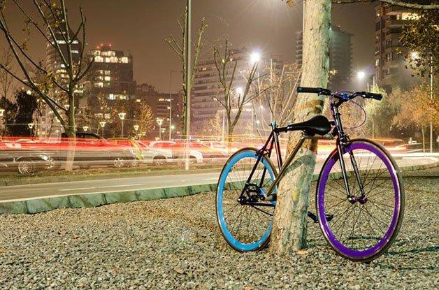Yerka, a bike com trava anti-furto