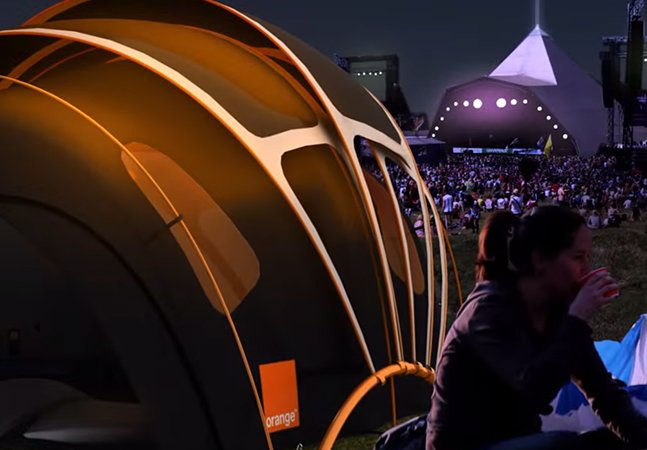 Barraca inteligente capta energia solar e promete tornar seu camping ainda mais gostoso