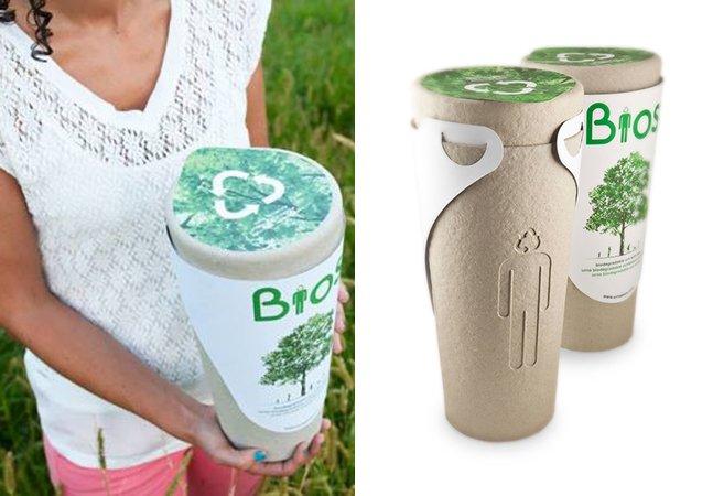 Urna funerária sustentável transforma cinzas do corpo em adubo para uma nova árvore