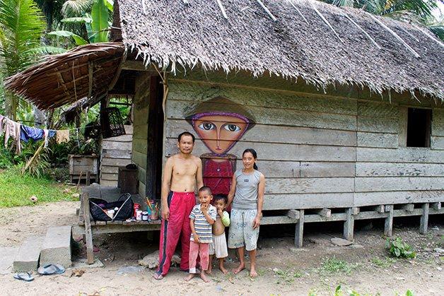 Casa-na-Vila-na-Ilha-de-Niang-Niang-Sumatra-Mentawai
