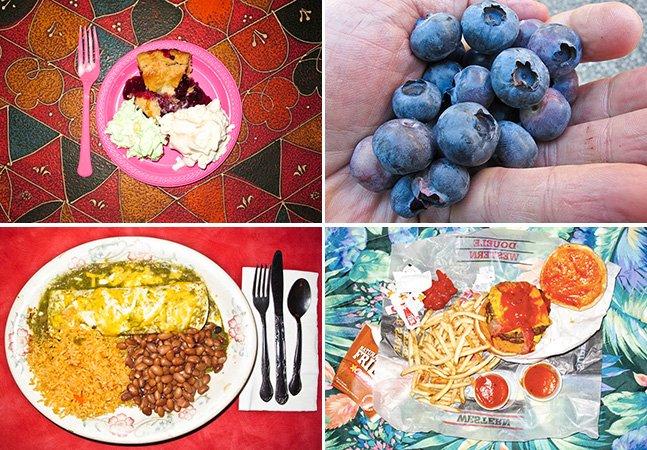 Homem passa um ano fotografando tudo o que come