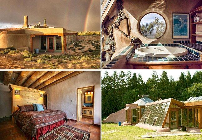 Conheça as Earthships, as casas mais sustentáveis do mundo