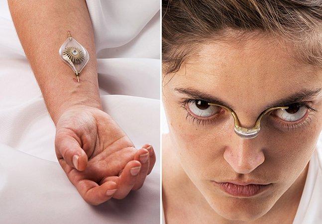Designer cria conceito de joia futurística que pode captar energia através do corpo humano