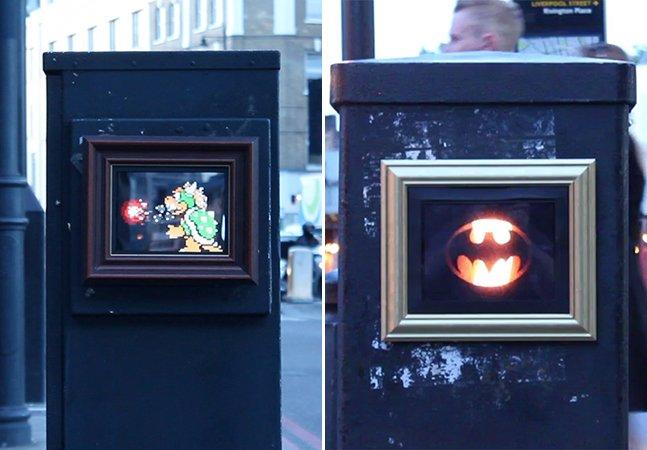Street art em forma de GIFs invade as ruas de Londres