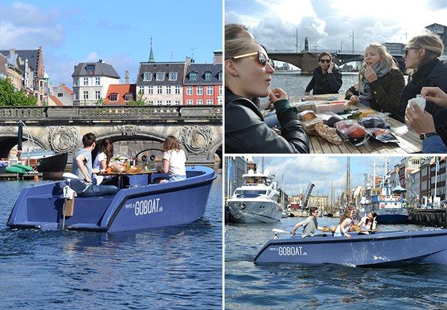 Cidade na Dinamarca oferece piquenique aquático sustentável
