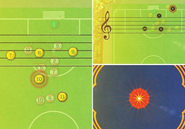 Equipe de criativos transforma os melhores gols da Copa do Mundo 2014 em música