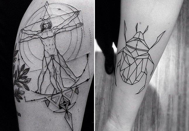 Conheça os traços finos e elegantes do tatuador brasileiro João Chavez