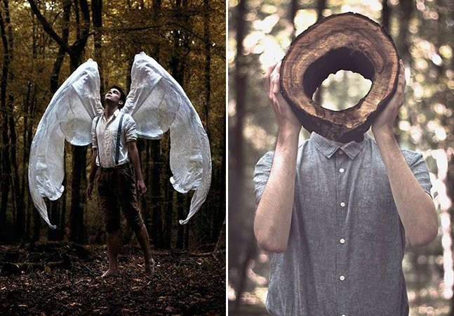 As fotografias surreais de um talentoso fotógrafo de apenas 18 anos