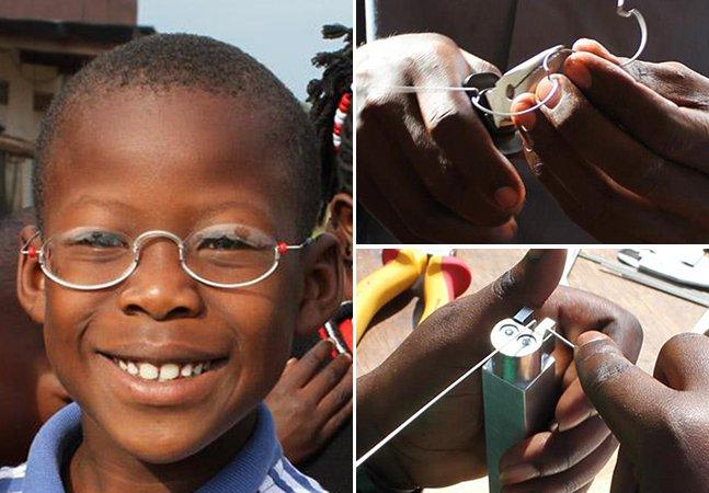 Empresa cria óculos de grau por U$1,00 e ajuda milhares de pessoas a enxergar um mundo melhor