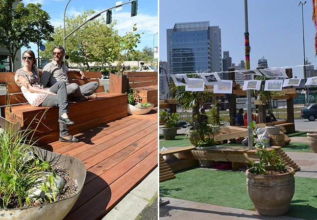 Conheça os parklets: as extensões temporárias que promovem uma renovação dos espaços públicos