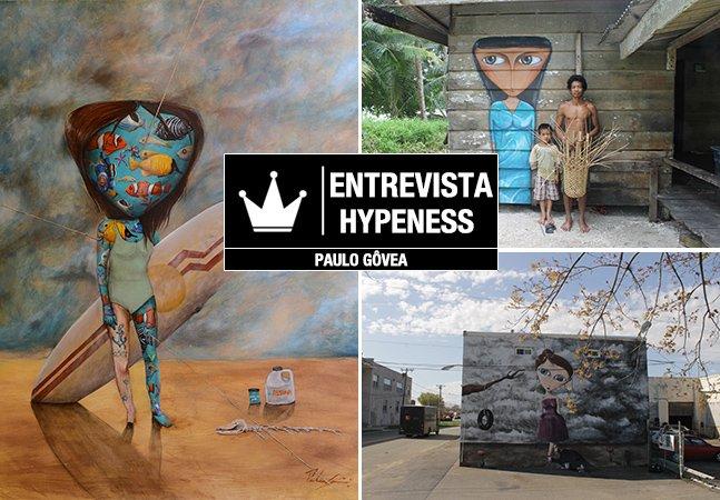 Entrevista Hypeness: o artista brasileiro que nos faz refletir sobre consumismo e felicidade