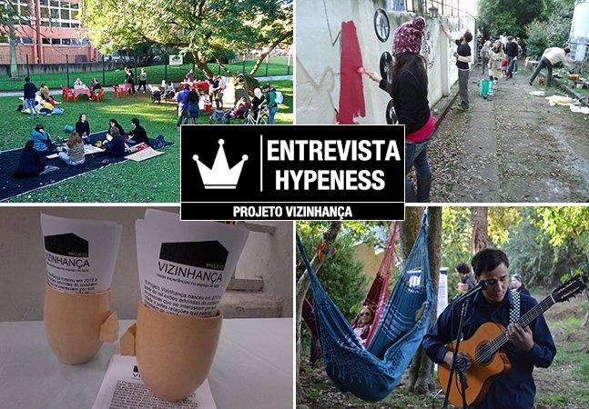 Entrevista Hypeness: o projeto que transforma espaços abandonados da cidade em lugares cheios de vida