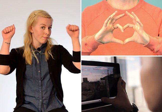 Estudantes criam conceito de app que traduz língua de sinais em palavras audíveis