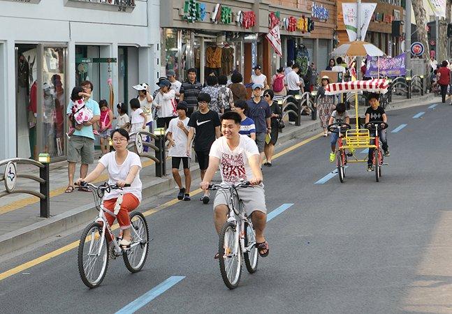 Bairro em cidade da Coreia do Sul proíbe circulação de carros durante um mês