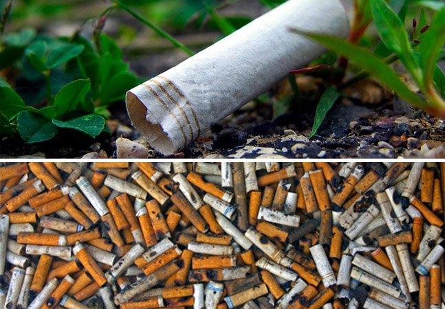 Pesquisadores encontram forma de usar bitucas de cigarro para armazenamento de energia