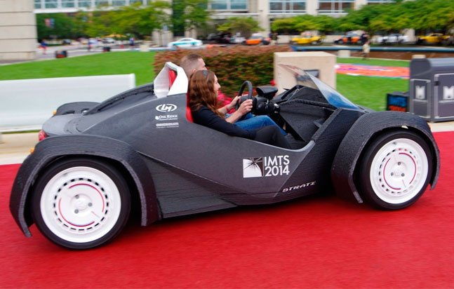 Empresa cria primeiro carro totalmente impresso em 3D