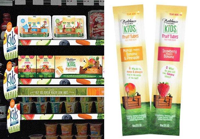 Marca cria comida saudável com embalagem de junk food para atrair a atenção crianças