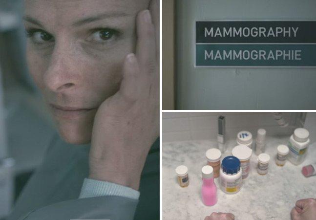 Campanha tocante mostra a visão do paciente sobre o câncer de mama