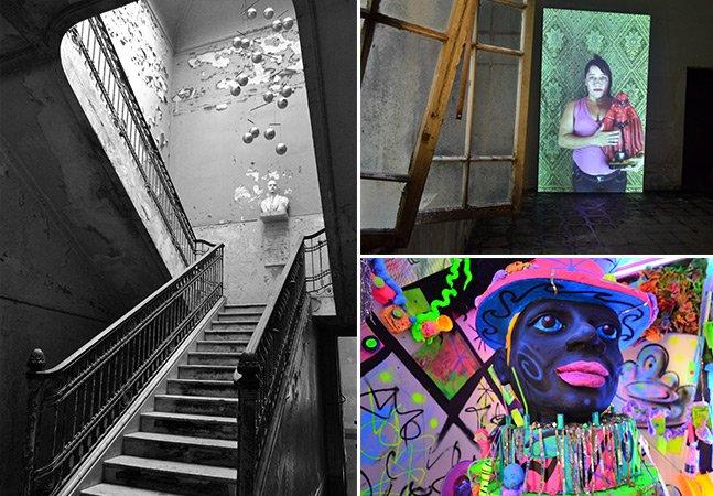 Antigo Hospital Matarazzo recebe exposição com mais de 100 artistas brasileiros e internacionais