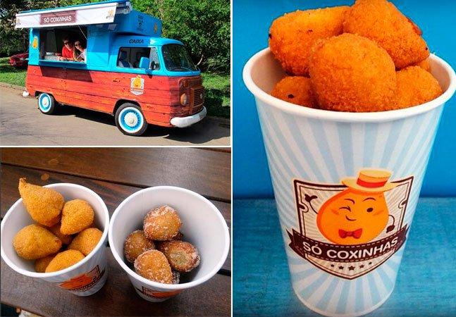 Primeiro Food Truck especializado em coxinhas chega a São Paulo