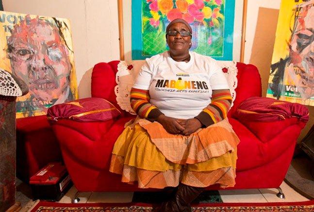 Projeto transforma casas de baixa renda em galerias de arte na Cidade do Cabo
