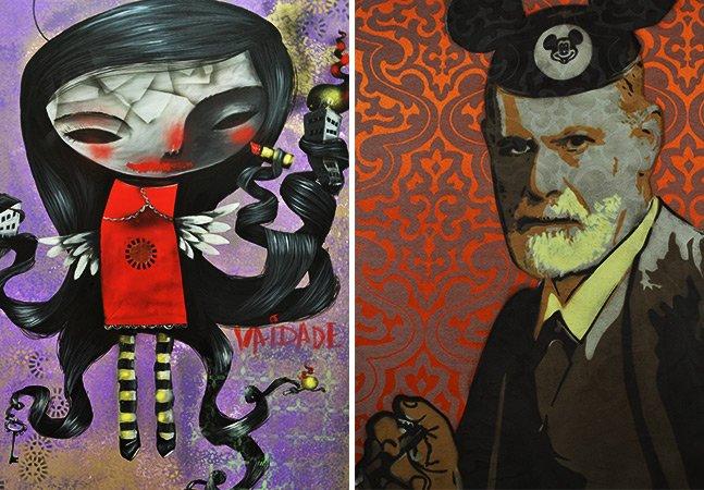 Obras de artistas urbanos invadem a PUC-São Paulo
