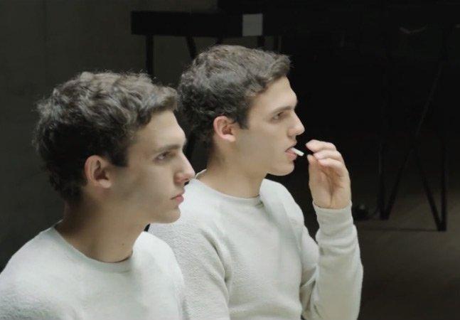 Experimento avalia o poder de mascar um chiclete