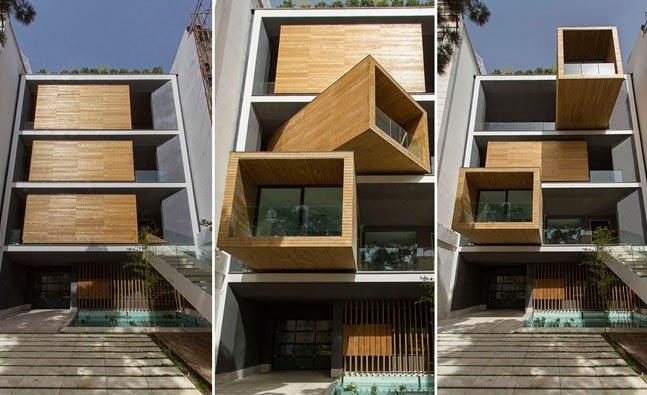 Casa inovadora muda de posição de acordo com as estações do ano