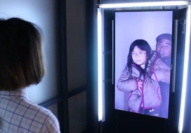 Artista usa tecnologia para criar interação em tempo real entre pessoas de Japão e Coreia