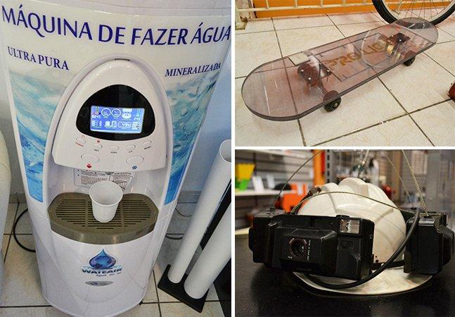 Desbravamos o acervo de ideias inovadoras e malucas do Museu das Invenções, em São Paulo