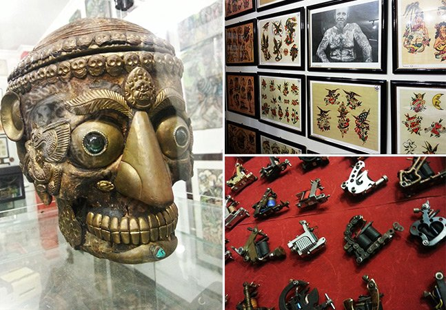 Conferimos o que há de mais legal  no Museu da Tatuagem em SP