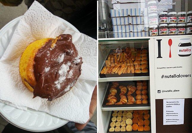 Fomos conferir as delícias do quiosque da Nutella em São Paulo