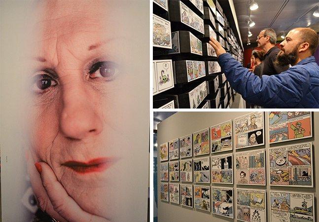 Laerte ganha mostra em São Paulo sobre seus 40 anos de carreira